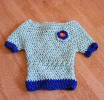 little diva pullover (0-3months)